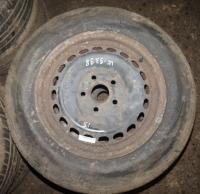 Диск колесный обычный (стальной) Volkswagen Passat B5 Артикул 51141636 - Фото #1