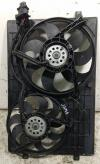 Вентилятор радиатора Volkswagen Polo (2001-2005) Артикул 52233757 - Фото #1