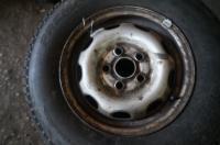 Диск колесный обычный (стальной) Volkswagen Transporter 4 Артикул 50951281 - Фото #1